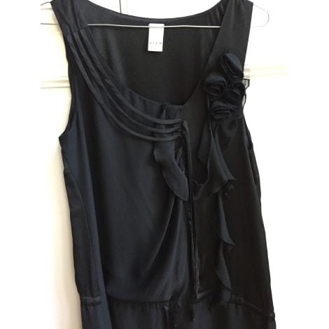 Robe mi-longue VILA Noir