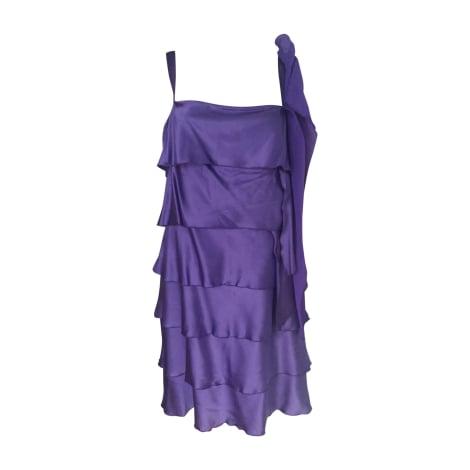 Robe courte BLUMARINE Violet, mauve, lavande