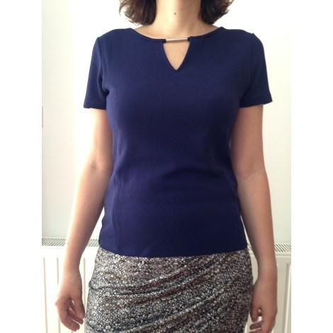 Top, tee-shirt CACHE CACHE Violet, mauve, lavande