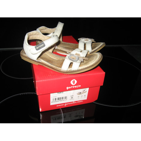 Sandals GARVALIN Beige, camel