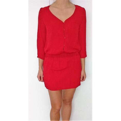 Robe tunique BERSHKA Rouge, bordeaux