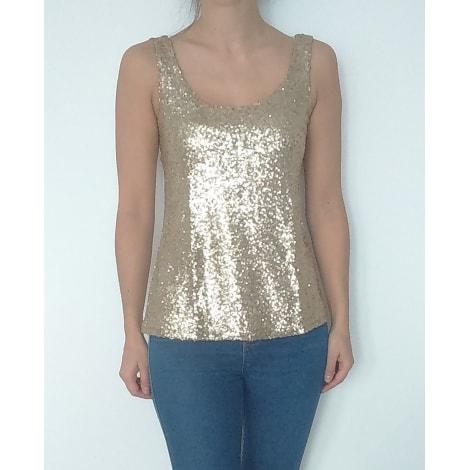 Top, tee-shirt PIMKIE Doré, bronze, cuivre