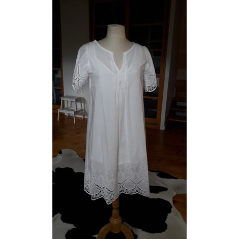 Robe courte MKT Blanc, blanc cassé, écru