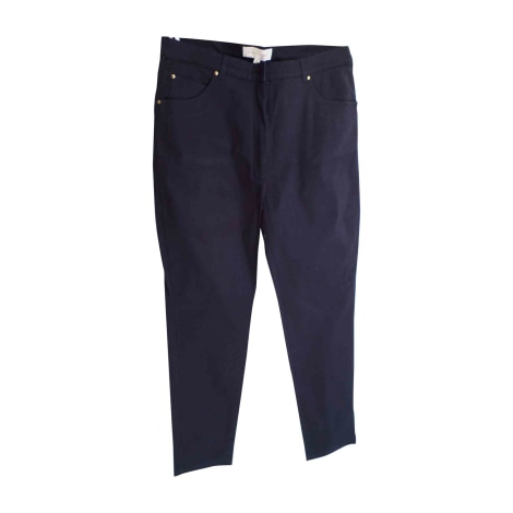 Pantalon droit CARVEN Bleu, bleu marine, bleu turquoise