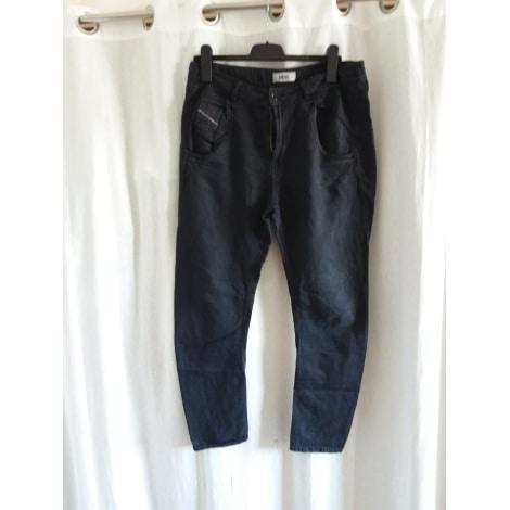 Jeans large, boyfriend DIESEL Noir