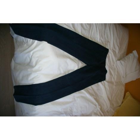 Pantalon droit BRUNO LEON DENIN Bleu, bleu marine, bleu turquoise