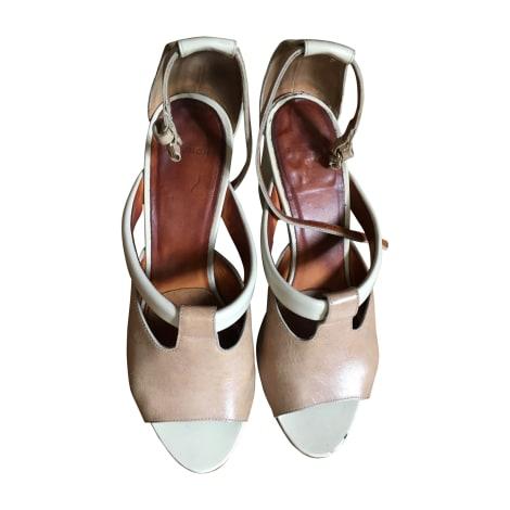 Sandales à talons GIVENCHY Beige, camel