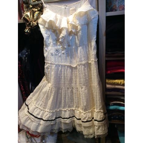 Robe mi-longue MADEMOISELLE AMBRE Blanc, blanc cassé, écru