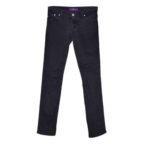 Jeans slim VICTORIA BECKHAM Noir