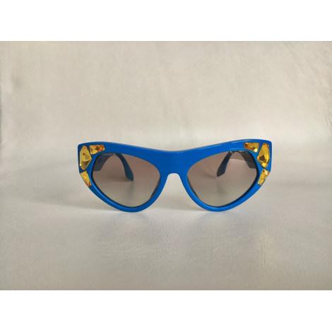 Lunettes de soleil PRADA Bleu, bleu marine, bleu turquoise