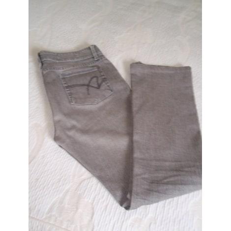 Jeans évasé, boot-cut ACQUAVERDE Gris, anthracite