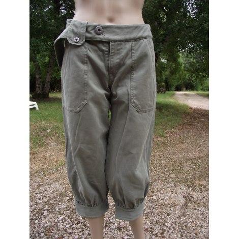Pantalon large DIESEL Kaki