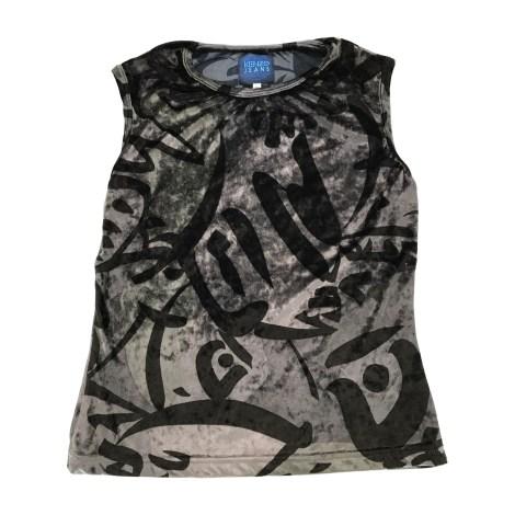 Top, tee-shirt KENZO Argenté, acier
