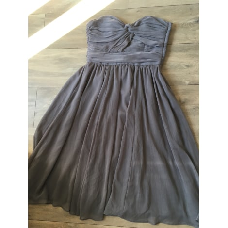Robe bustier H&M Taupe