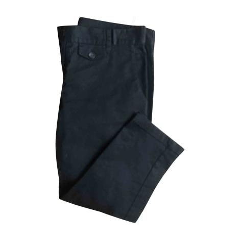 Pantalon carotte PRADA Noir