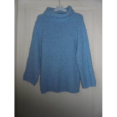 Pull 1.2.3 Bleu, bleu marine, bleu turquoise