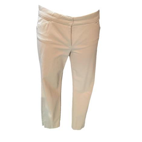 Pantalon droit SPORTMAX Beige, camel