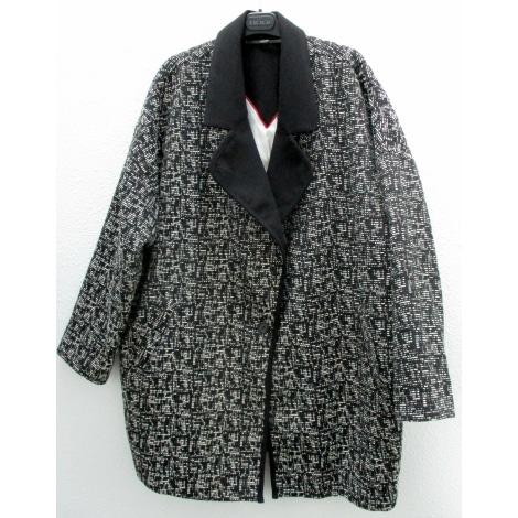 Manteau IKKS noir/blanc