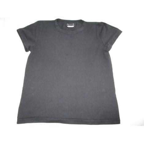 Top, tee-shirt AGNÈS B. Noir