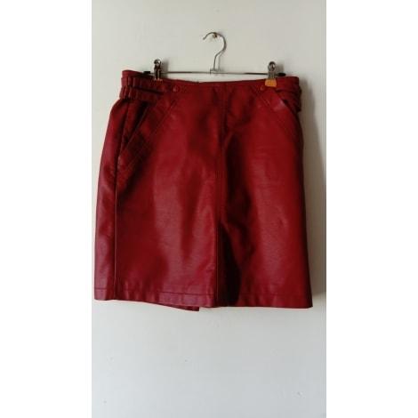 Jupe courte SEPIA Rouge, bordeaux