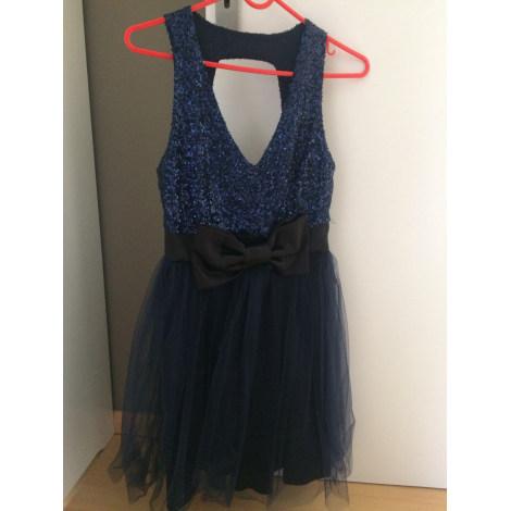 Robe courte MIM Bleu, bleu marine, bleu turquoise