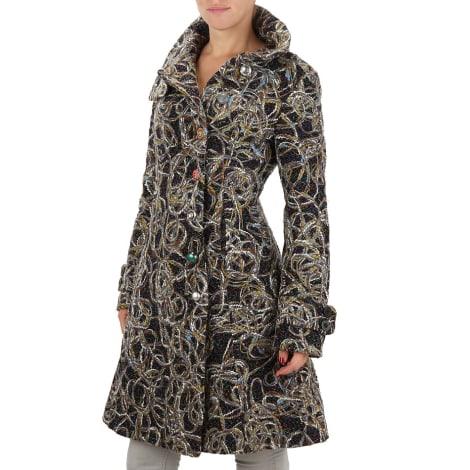 Manteau DESIGUAL Gris, anthracite
