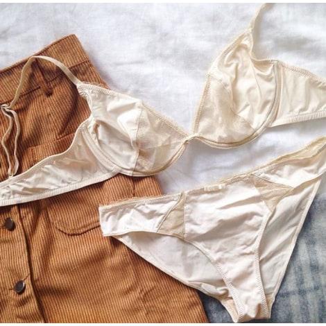 Ensemble, parure lingerie YSÉ Blanc, blanc cassé, écru