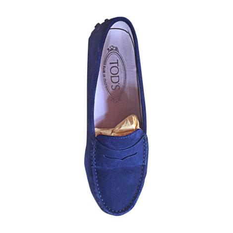 Mocassins TOD'S Bleu, bleu marine, bleu turquoise