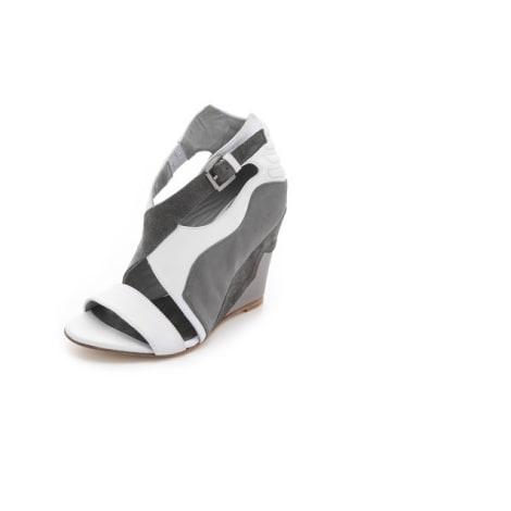 Sandales compensées SURFACE TO AIR Gris, anthracite