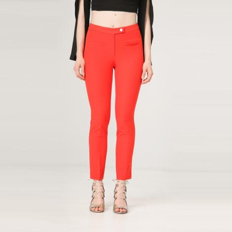 Pantalon slim, cigarette FONTANA 2.0 Rouge, bordeaux