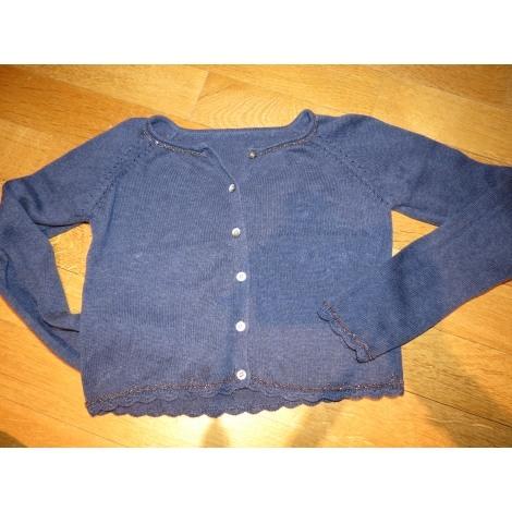 Gilet, cardigan TARTINE ET CHOCOLAT Bleu, bleu marine, bleu turquoise