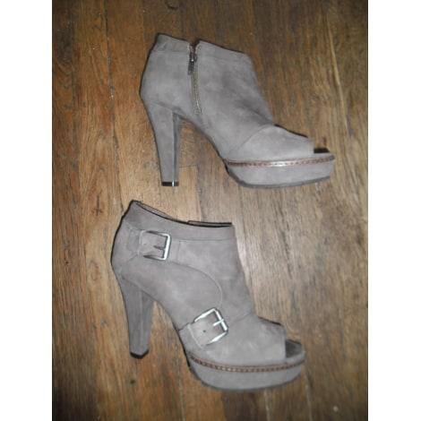 High Heel Ankle Boots COSMOPARIS Purple, mauve, lavender
