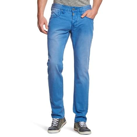 Jeans slim TIMEZONE Bleu, bleu marine, bleu turquoise