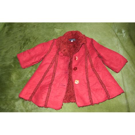 Manteau JEAN BOURGET Rouge, bordeaux