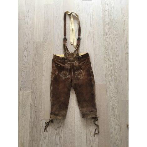 Pantalon slim MEINDL Marron