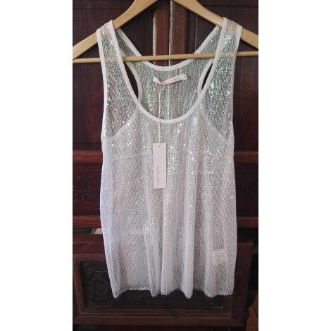 Top, tee-shirt VIRGINIE CASTAWAY Blanc, blanc cassé, écru