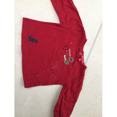 Top, tee shirt GRAIN DE BLÉ Rouge, bordeaux