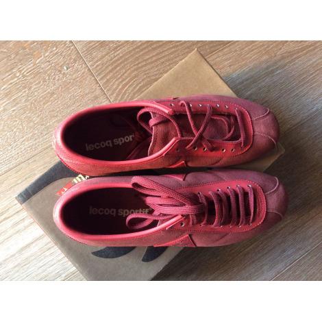 Chaussures de sport LE COQ SPORTIF Rose, fuschia, vieux rose