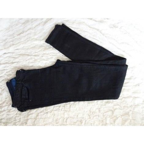 Pantalon slim, cigarette ZARA Bleu, bleu marine, bleu turquoise