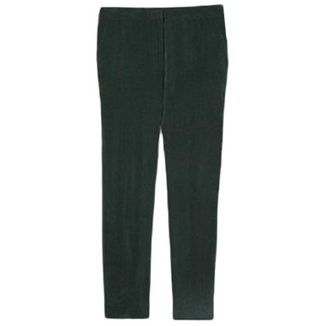 Pantalon slim, cigarette COS Vert