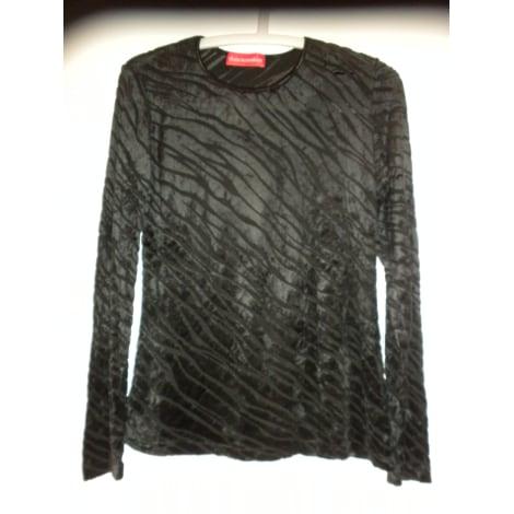 Top, tee-shirt ALAIN MANOUKIAN Noir