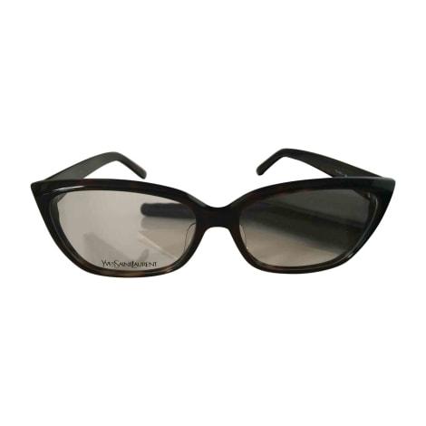 Monture de lunettes YVES SAINT LAURENT Marron