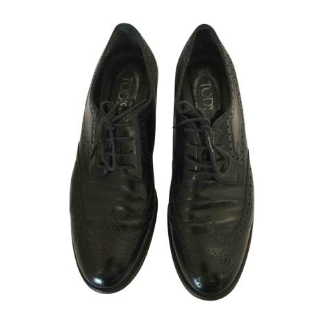 Chaussures à lacets  TOD'S Noir