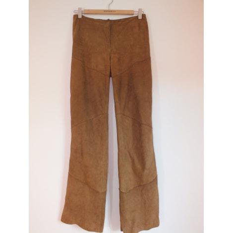 Pantalon droit OAKWOOD Marron