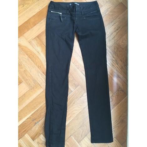 Jeans droit ZARA Noir