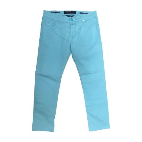 Jeans droit JACOB COHEN Vert