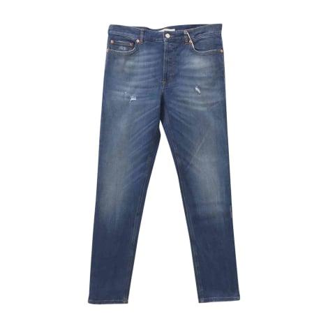 Jeans slim GIVENCHY Bleu, bleu marine, bleu turquoise