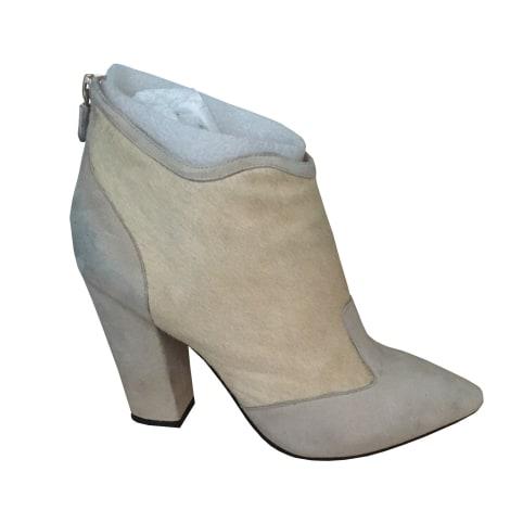 Bottines & low boots à talons LOLA CRUZ Beige, camel