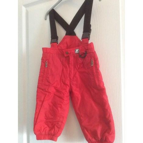 Ensemble & Combinaison pantalon K-WAY Rouge, bordeaux