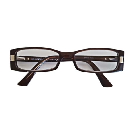 Monture de lunettes EMPORIO ARMANI Marron